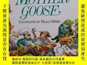 二手書博民逛書店A罕見treasury of mother gooseY2045