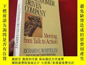 二手書博民逛書店The罕見Customer-Driven Company: Mo