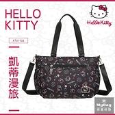 Hello Kitty 手提包 凱蒂漫旅 凱蒂貓 滿版印花 兩用托特包 側背包 KT01T05 得意時袋