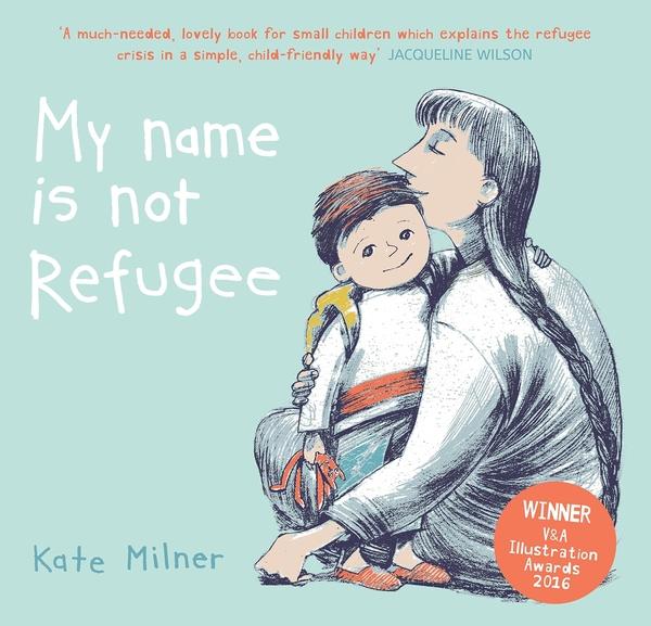 【麥克書店】MY NAME IS NOT REFUGEE /英文繪本《學校指定用書.社會文化》