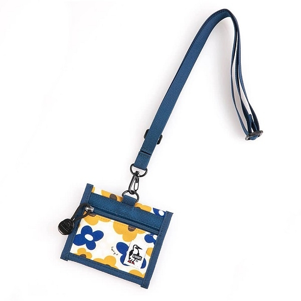 CHUMS Eco ID Card Holder 證件帶 花朵 CH602488Z151【GO WILD】