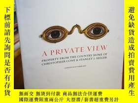 二手書博民逛書店SOTHEBY S罕見london a PRIVATE VIEW