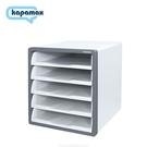 《享亮商城》17500-DG 深灰色 開放式五層文件櫃 KAPAMAX