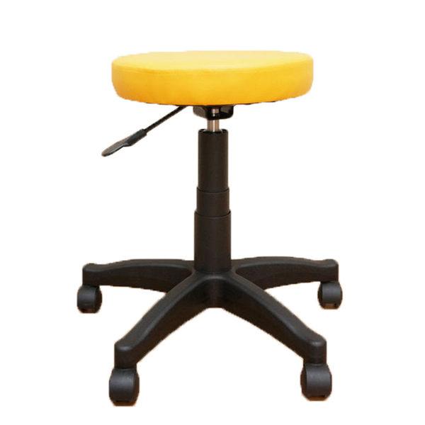 凱堡 馬卡龍皮革旋轉升降圓凳 升降椅美容凳 工作椅【A04163】