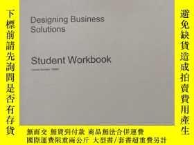 二手書博民逛書店designing罕見business solutions( :