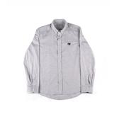 【KENZO】眼睛LOGO長袖襯衫(灰色) F655CH204 93