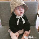 嬰童裝小童男女寶寶漁夫帽透氣嬰兒遮陽帽子出游海灘防曬盆帽    西城故事