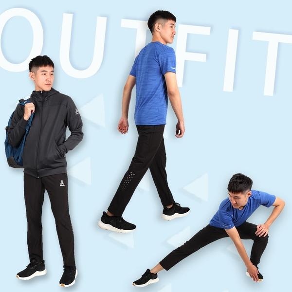 HODARLA 箭勝平織彈性長褲 (反光 台灣製 慢跑 路跑 訓練 運動長褲≡體院≡