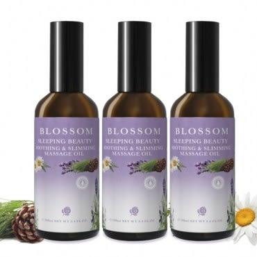【BLOSSOM】睡美人勻體曲線緊緻修護按摩油(100ml/瓶 共3瓶)