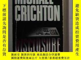 二手書博民逛書店英文原版罕見Disclosure by Michael Cric