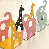 創意桌面可愛動物造型金屬書夾書靠彩色閱讀架一對價【聖誕交換禮物】