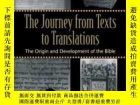 二手書博民逛書店Journey罕見From Texts To Translations, The-從文本到翻譯的旅程Y4366