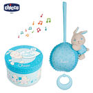 chicco-粉藍兔兔晚安音樂鈴禮盒...