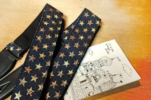 【敦煌樂器】ENO ES-1110 星辰星星造型圖案背帶