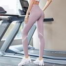 瑜伽健身褲女高腰提臀彈力緊身收腹運動跑步服速干打底外穿夏薄款 快速出貨