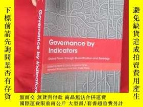 二手書博民逛書店Governance罕見By Indicators: Globa