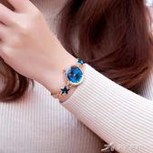 潮流時尚韓版簡約休閒大氣手錬錶手錶女學生防水氣質 樂芙美鞋