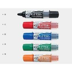 《享亮商城》WMBM-18BM-O 桔色 粗字圓頭-可換卡水白板筆 百樂