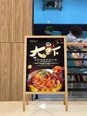KT板展架廣告展示展板架定制木質海報架易拉寶制作立式落地式  快速出貨