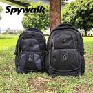 SPYWALK 休閒多夾層後背包 NO:S9395