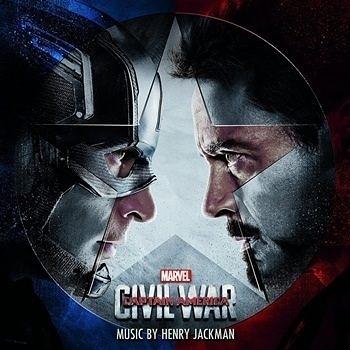 美國隊長3 英雄內戰 電影原聲帶CD OST (購潮8)