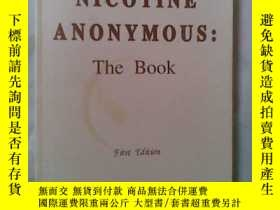 二手書博民逛書店NICOTINE罕見ANONYMOUS THE BOOKY192