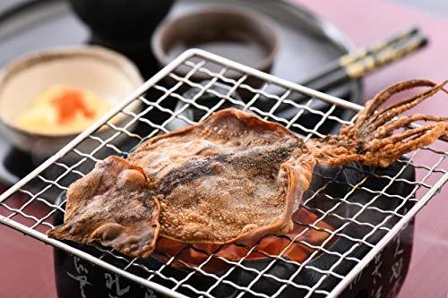 【北海道 整隻烤魷魚】日本 烤魷魚乾 120g 約4-8隻 一夜干 宵夜 下酒菜 可以直接吃【小福部屋】