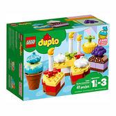 樂高積木 LEGO《 LT10862 》2018 年 Duplo 幼兒系列 - 我的第一次慶祝會 ╭★ JOYBUS玩具百貨