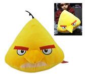 【卡漫城】 飛鏢黃 抱枕 36cm ㊣版 憤怒鳥 Angry Birds 玩偶 絨毛娃娃 午安枕 靠墊 靠枕 布偶 黃鳥