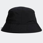 ADIDAS 漁夫帽 FI BUCKET SE 黑 印花 休閒 (布魯克林) GL8600