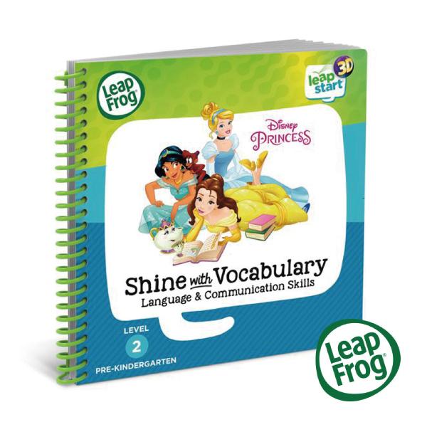 美國 LeapFrog 跳跳蛙 LeapStart 幼兒12-迪士尼公主養成記3D 全英行動學習書籍