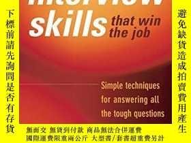 二手書博民逛書店Interview罕見Skills That Win The JobY255562 Michael Spiro