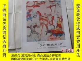 二手書博民逛書店EVENING罕見SALE:CONTEMPORARY ART【1