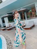 溫泉泳衣女三件套 新款網紅款韓國性感可愛日系保守 【免運】