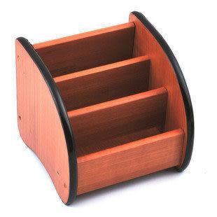 【收納存儲】高級木質多用途桌面收納座