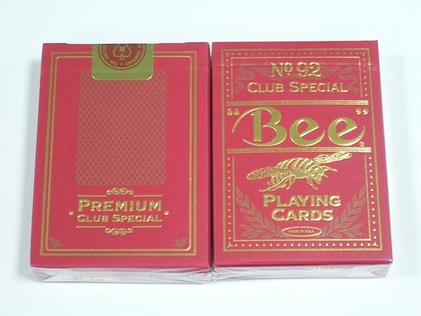 【USPCC撲克】Golden Bee playing cards red