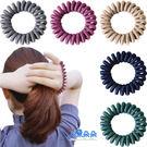 布面電話線髮束 針織電話圈 髮圈 髮飾 ...