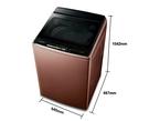 《Panasonic 國際牌》nanoe 17公斤 直立式變頻 溫水 雙效槽洗淨洗衣機 NA-V170GB-T(晶燦棕)