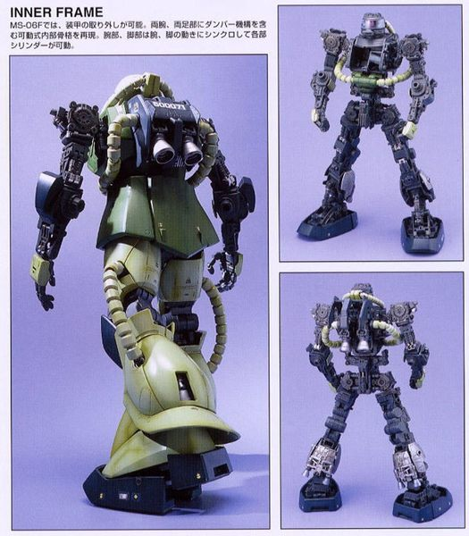 鋼彈模型 PG 1/60 機動戰士鋼彈 MS-06F 量產型薩克II TOYeGO 玩具e哥