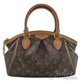 茱麗葉精品 二手精品  【9成新】 Louis Vuitton LV M40143 TIVOLI PM 經典花紋手提包.小