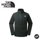 【The North Face 男 刷毛保暖外套 《黑》】CTT7/抓絨/排汗/快乾/立領