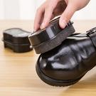 BO雜貨【SV9618】多功能 雙面擦皮鞋海綿 無色蠟刷子  黑皮鞋 皮鞋 皮帶 皮包 雙面 海綿 擦鞋工具