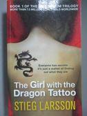 【書寶二手書T1/原文小說_MPM】The Girl with the Dragon Tattoo_Stieg Larsson