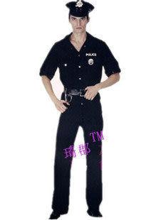 萬聖節服裝道具Police警服