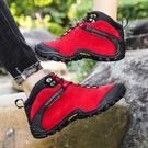 越野真皮戶外高幫登山鞋女士防水防滑耐磨沙漠徒步旅行鞋爬山鞋男