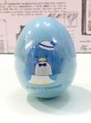 【震撼精品百貨】Tuxedo Sam Sanrio 山姆藍企鵝~蛋型印章-藍*56374