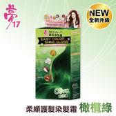 夢17 柔順護髮染髮霜 橄欖綠