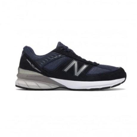 NEW BALANCE 男鞋休閒美國製2E 寬楦麂皮緩震深藍 M990NV5【FEEL 9S】