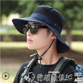釣魚帽登山帽子男士夏天遮陽帽沙灘防曬帽太陽帽夏季漁夫帽 爾碩數位3c