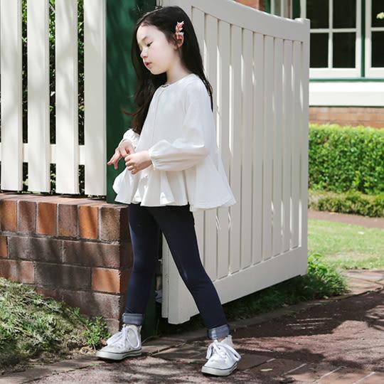 *╮小衣衫S13╭*韓風潮流中大童仿牛仔褲 1050807